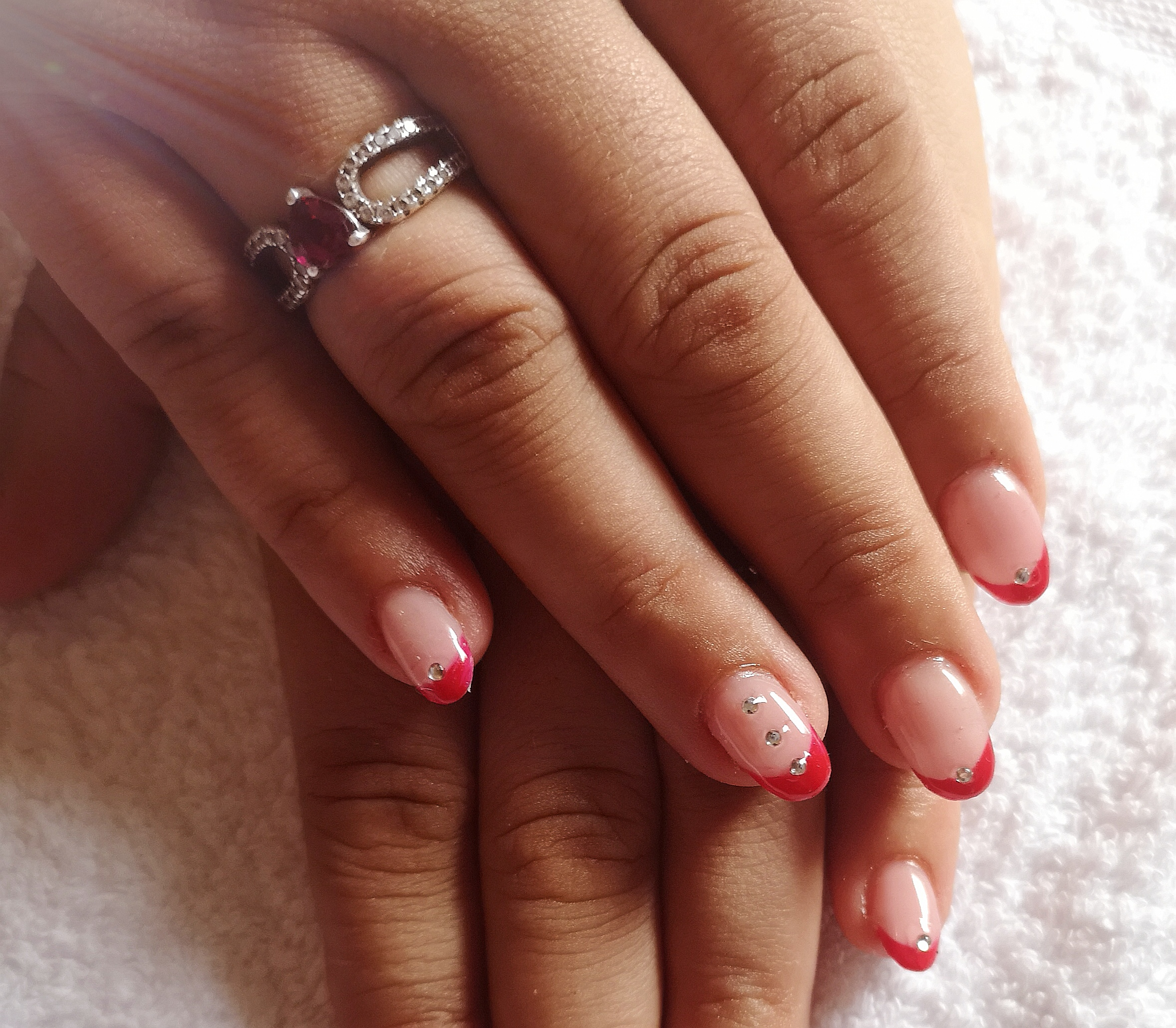 french gel rouge pour mariage